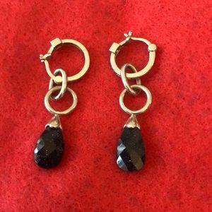 Jewelry - Blue Goldstone Pierced Earrings